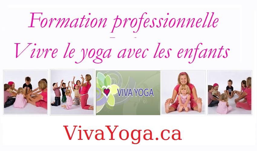Vivre le yoga avec les enfants